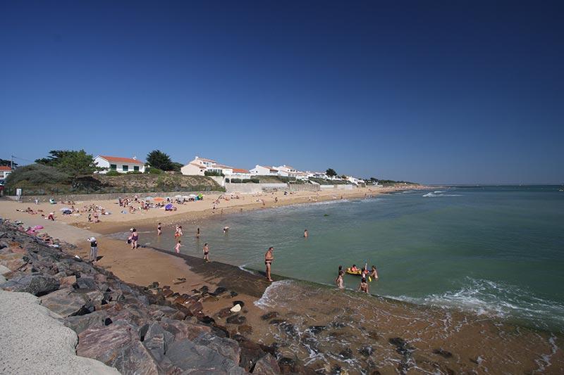 La plage de Morpoigne