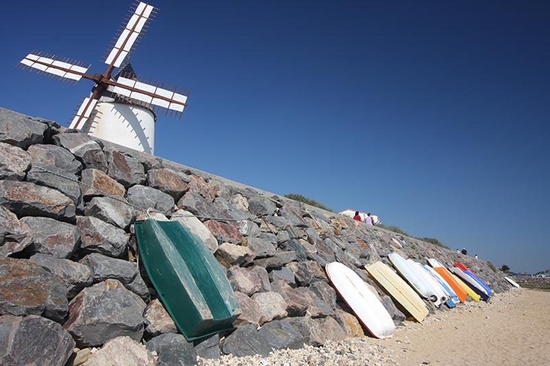 Le port et son moulin
