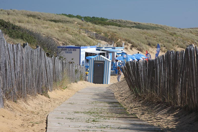 La plage de la Mine