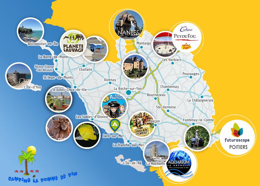 Découvrir la Vendée