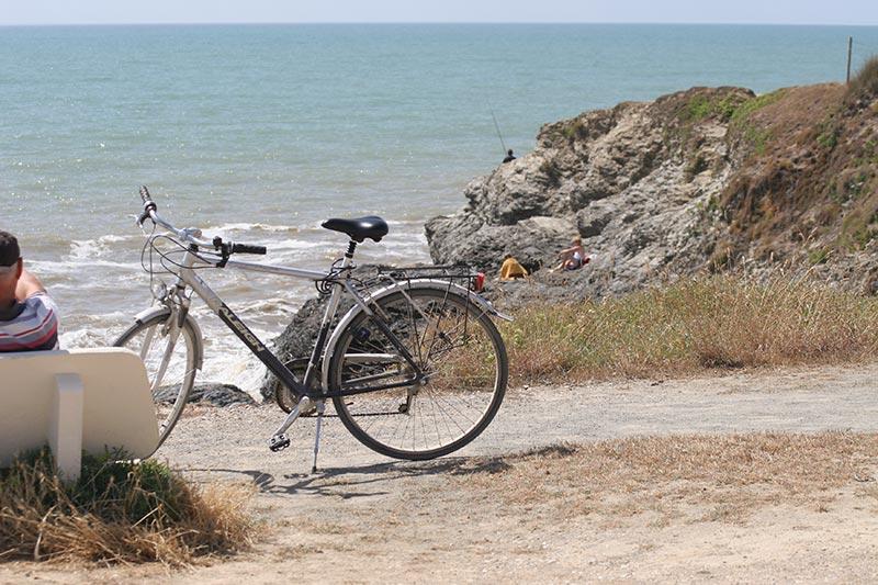 vélos proche du camping