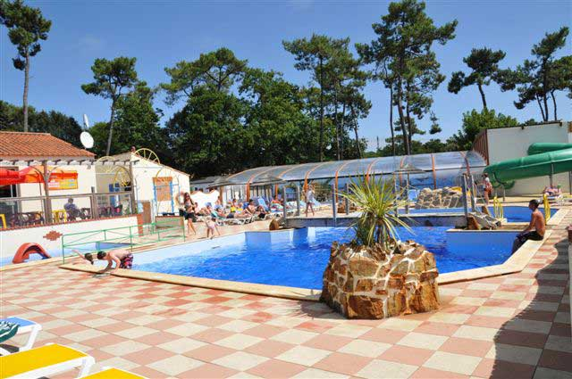 espace aquatique du camping en Vendée proche plage