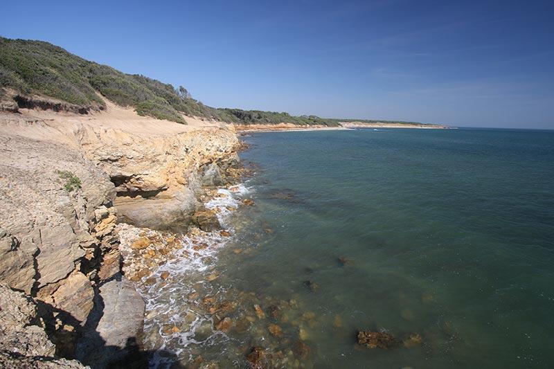 plage proche du camping en Vendée