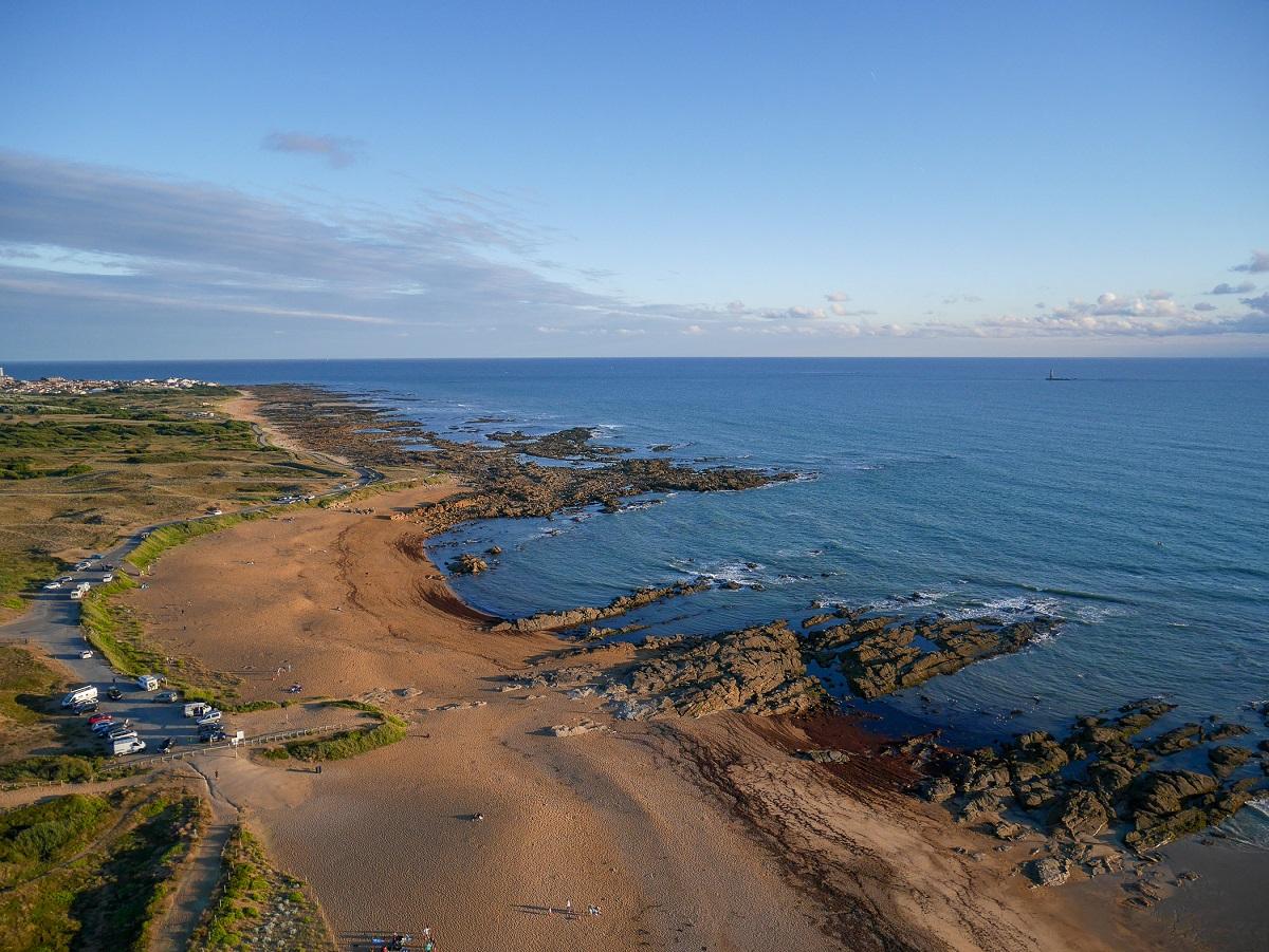 plage sauvage Vendée