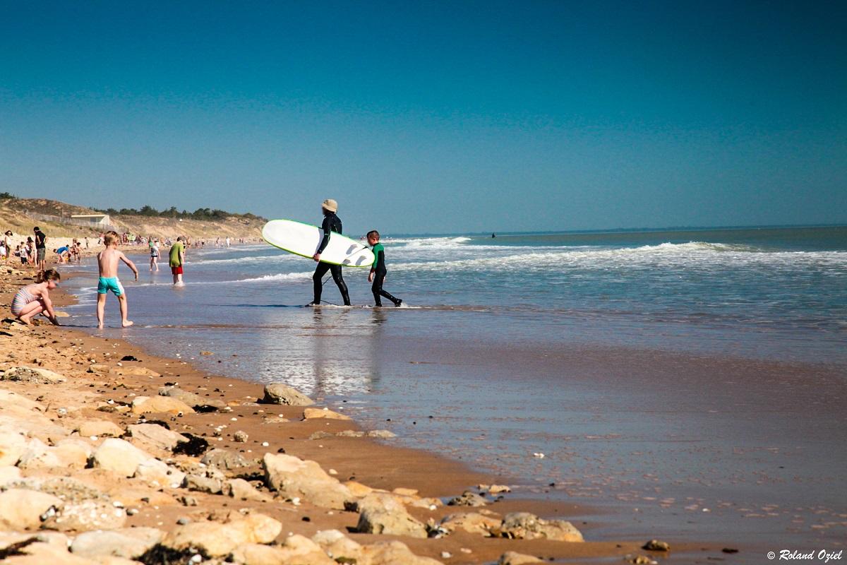 surf La tranche sur mer