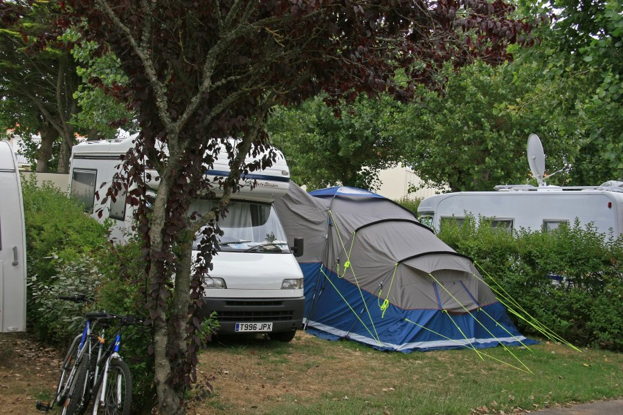 emplacements de camping