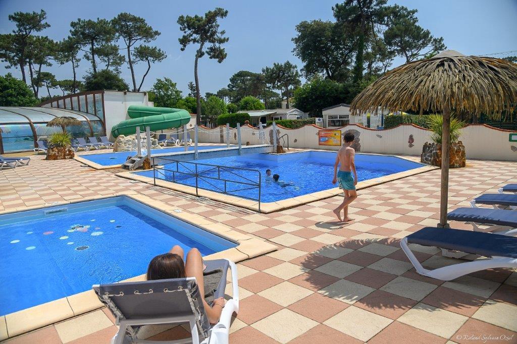 espace aquatique camping Jard sur Mer
