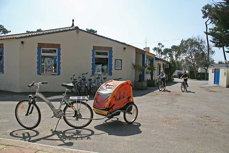 location vélo camping