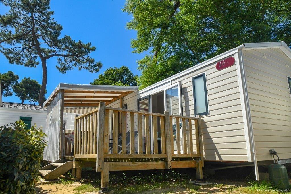 Mobil home camping Vendée