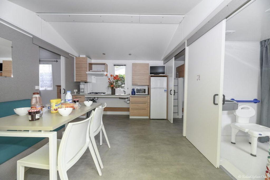 location mobil home pour personne à mobilité réduite Vendée