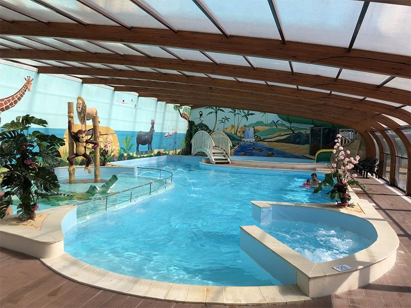 la piscine à disposition en Vendée