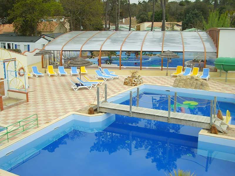 piscine et location de chalet en Vendée