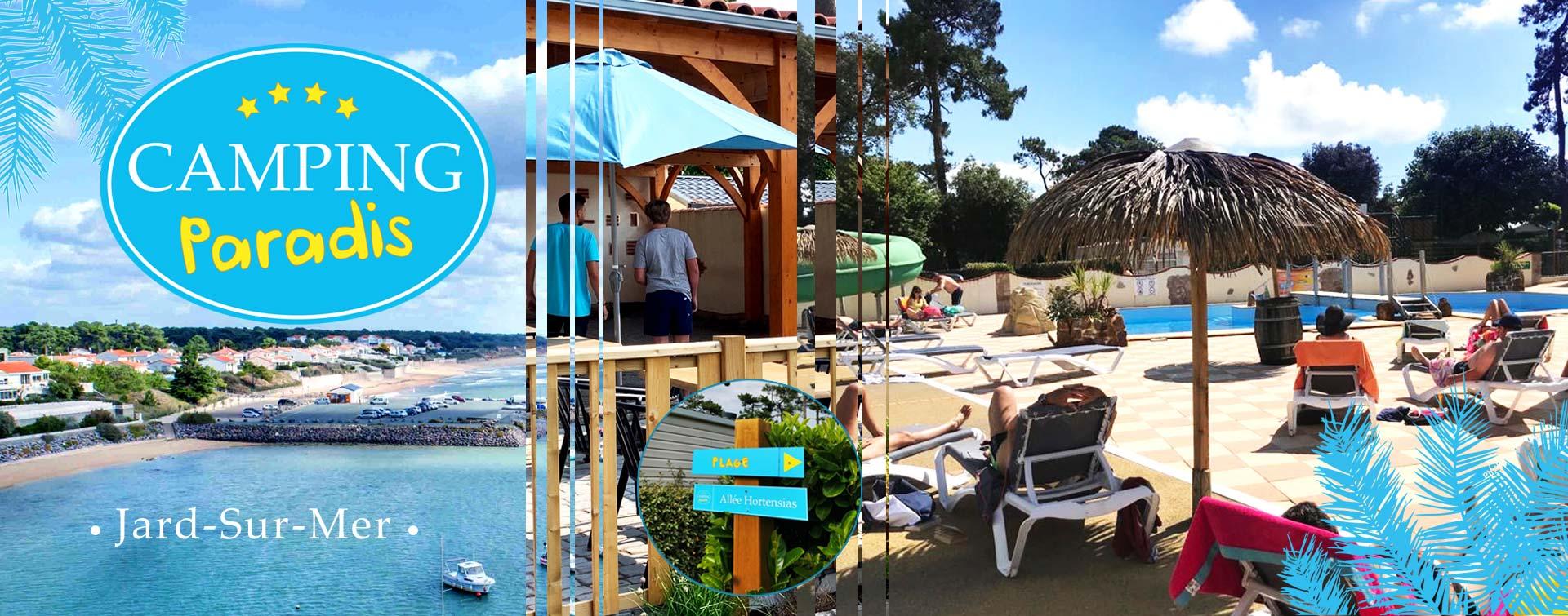 Le snack bar du camping Paradis de Jard sur Mer