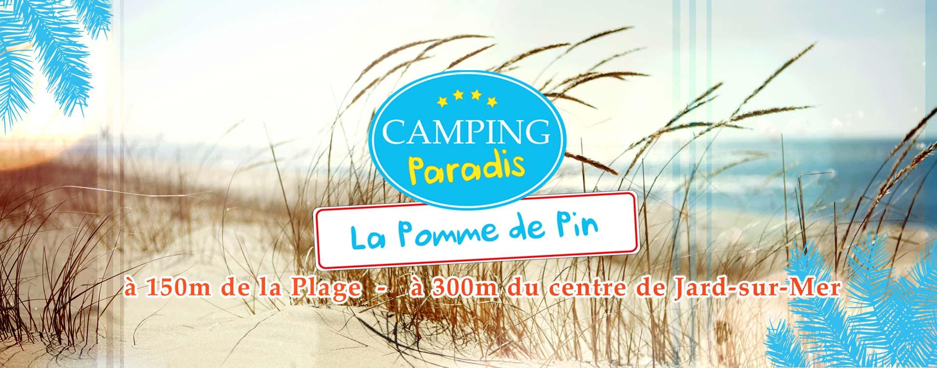 Camping Paradis Jard sur Mer