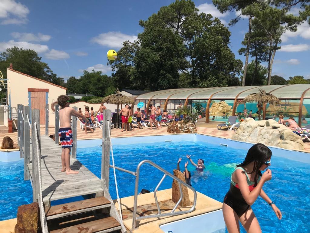camping avec espace aquatique en Vendée